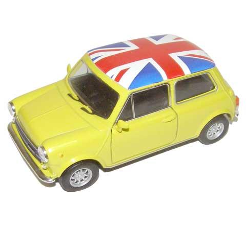 Auto 1:34 Welly Mini Cooper 1300 Anglick