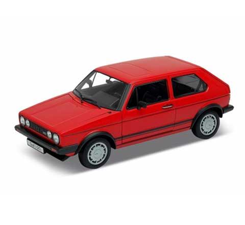 Auto 1:34 Welly VW Golf I GTI červený