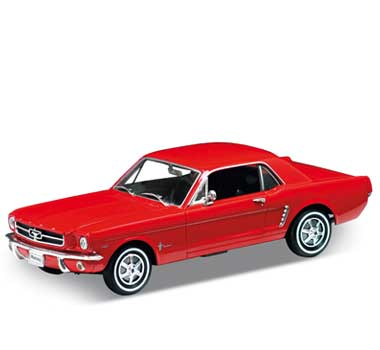 Auto 1:18 Welly 1964 1/2 Ford Mustang če