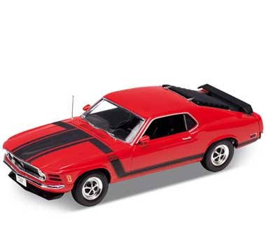 Auto 1:18 Welly FORD 1970 MUSTANG