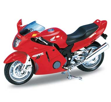 Motorka 1:18 Welly HONDA CBR 1100XX
