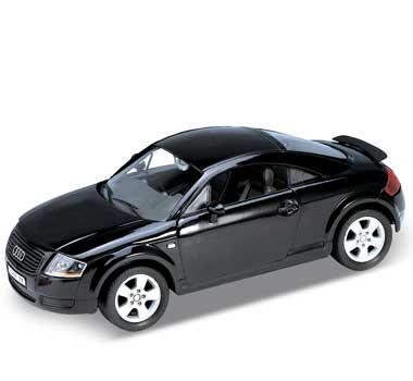 Auto 1:24 Welly AUDI TT černé