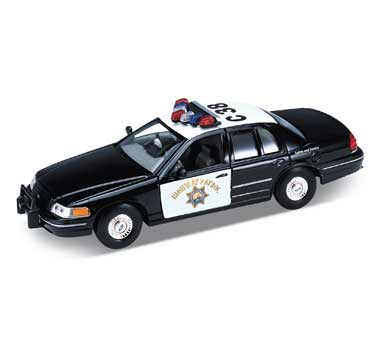 Auto 1:24 Welly FORD CROWN VICTORIA (POL