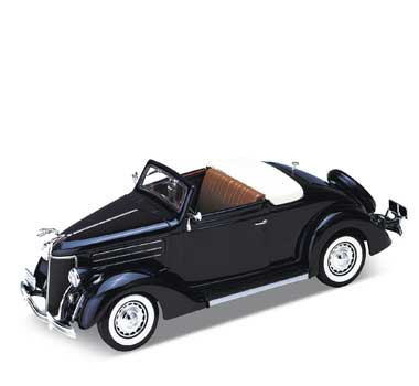 Auto 1:24 Welly FORD DELUXE CABRIO 1936