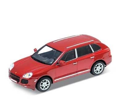 Auto 1:24 Welly PORSCHE CAYENNE červený