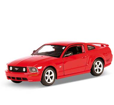 Auto 1:24 Welly FORD MUSTANG GT 2005 čer