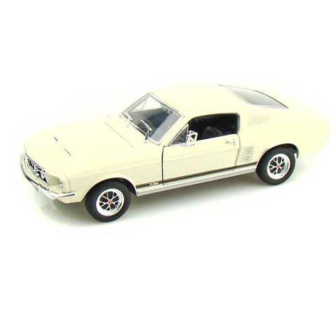 Auto 1:24 Welly FORD MUSTANG GT 1967 bíl