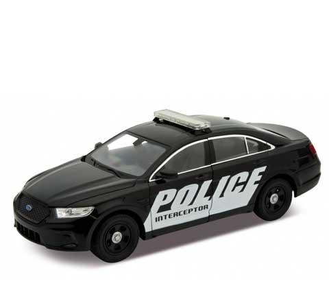 Auto 1:24 Welly Ford Police Interceptor