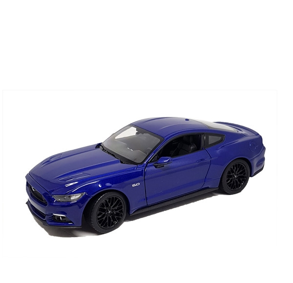 Auto 1:24 Welly 2015 Ford Mustang GT čer