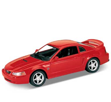 Auto 1:24 Welly FORD MUSTANG 1999 červen