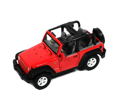 Auto 1:34 Welly Jeep Wrangler Rubicon če
