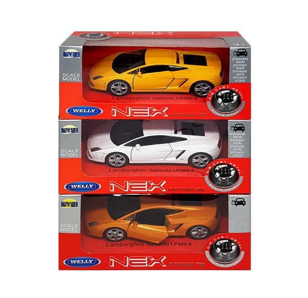 Auto 1:34 Welly Lamborghini Gallardo LP5