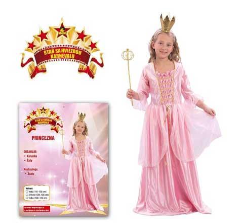 Karnevalový kostým Princezna 4A
