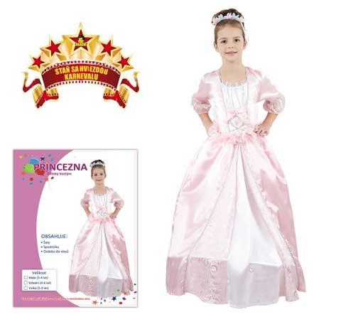 Karnevalový kostým Princezna 1A