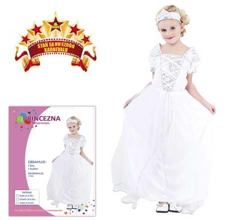 Karnevalový kostým Princezna 3A