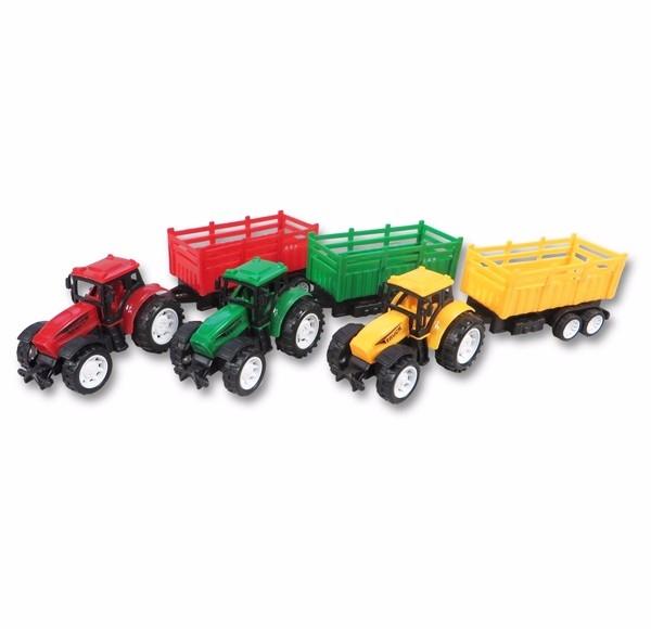 Traktor SF s vlečkou 3ks