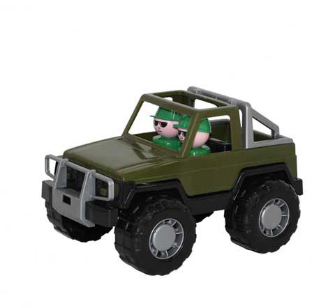 Polesie Auto Jeep vojenské