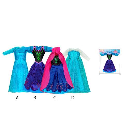 Oblečení pro panenky zimní království