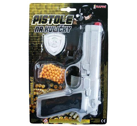 Pistole na kuličky s příslušenstvím