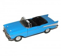 Auto 1:34 Welly Chevrolet 57 Bel Air mod