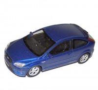 Auto 1:34 Welly Ford Focus ST modrý
