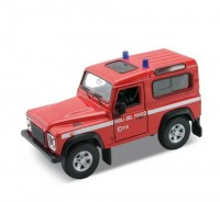 Auto1:34 Welly Land Rover Defender hasič