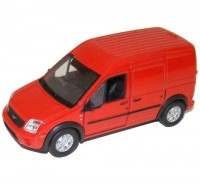 Auto 1:34 Welly Ford Transit Connect čer