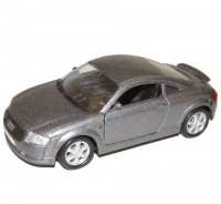 Auto 1:34 Welly Audi TT šedé