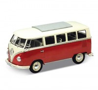 Auto 1:18 Welly VW 1962 Classical bus če