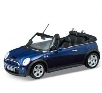 Auto 1:18 Welly MINI COOPER S CABRIO