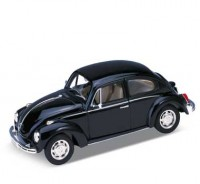 Auto 1:24 Welly VW BEETLE modrý