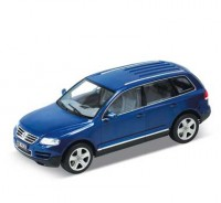 Auto 1:24 Welly VW TOUAREG modrý