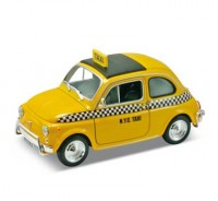 Auto 1:24 Welly FIAT NUOVA 500 TAXI