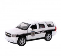 Auto 1:34 Welly Chevrolet 08 Tahoe polic