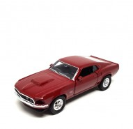 Auto 1:34 Welly 1969 Ford Mustang Boss 4
