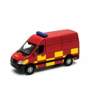 Auto 1:34 Welly MB Sprinter Fire
